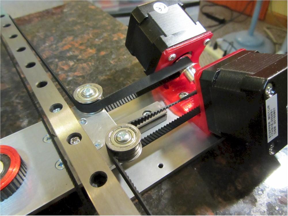 Inside-H: Modified H-Bot drive