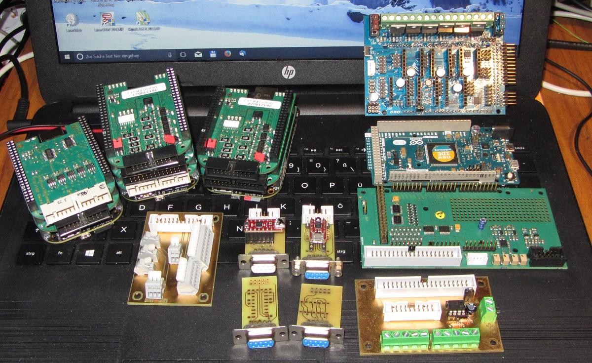 STM32F1/F4 3d Printer board for Marlin