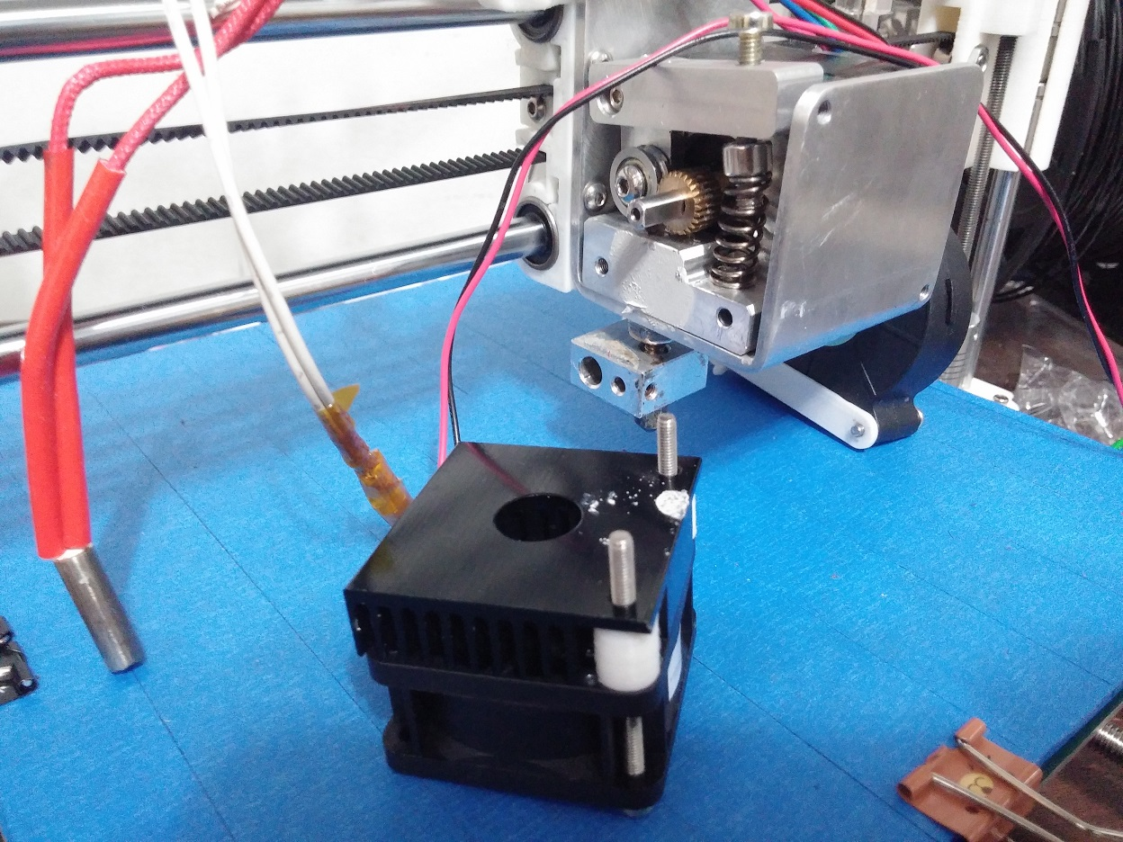 Prusa i3 - stuck filament
