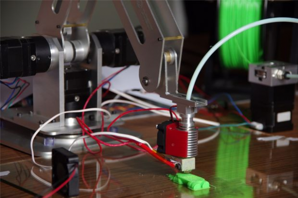 How to turn Adunio-based robot arm into a 3D printer