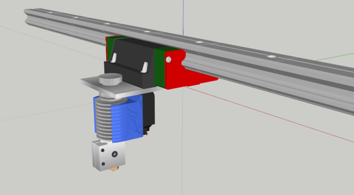 Linear Rail Brake : Types of linear guides and mounting options