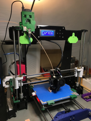 Anet A8 Y-axis bed movement