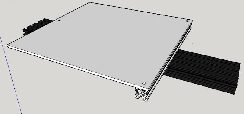 Aluminium bed upgrade