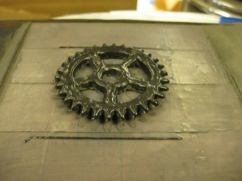 SLS wax printer - RepRap