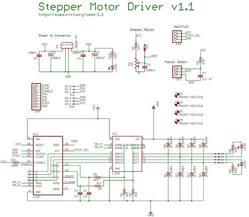 stepper motor driver 1 1 reprapwiki