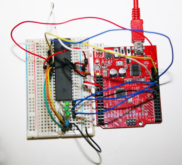 Img1 burning the sanguino bootloader using arduino as isp reprapwiki  at n-0.co