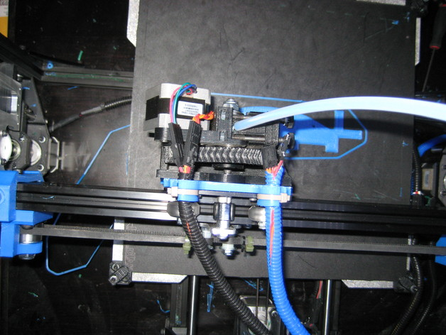 V-slot on 8020 extrusion