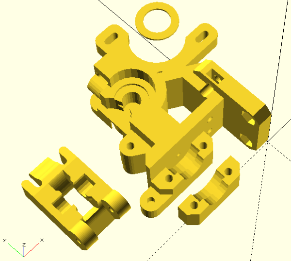 Wade-L3K, STLs imported in OpenSCAD.