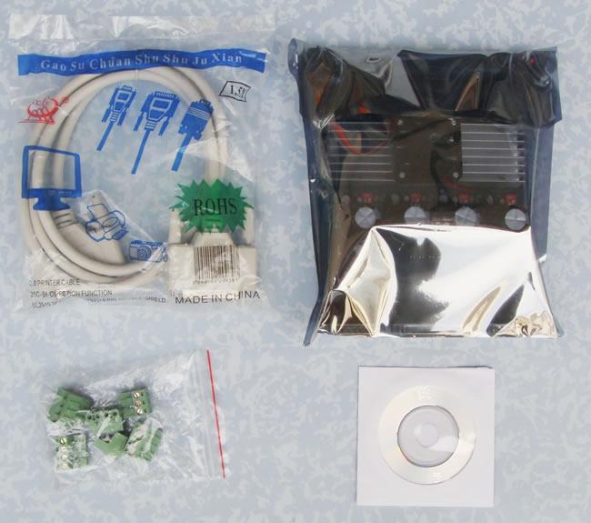 4 Axis Tb6560 Cnc Stepper Motor Driver Board Controller