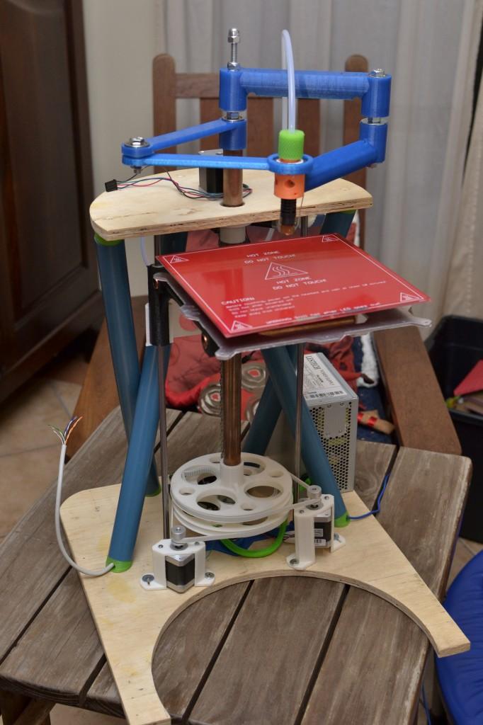 MORGAN Polar RepRap printer