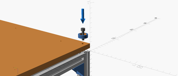 Assembly instructions for base plywood and feet
