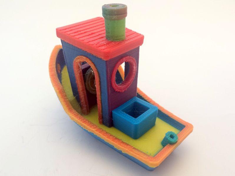 CMYK 3D Printing