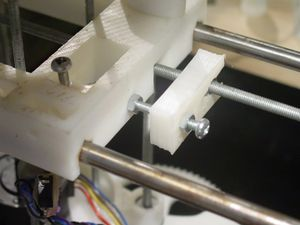 BlogPhotosFromVik-first selfmade reprap part fitted.jpg