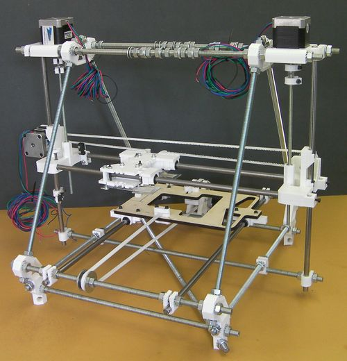 RepRapPro Z Axis