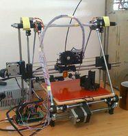 RipRep 3D printer, model Prusa-Mendel