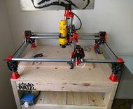Mostly Printed CNC - RepRap