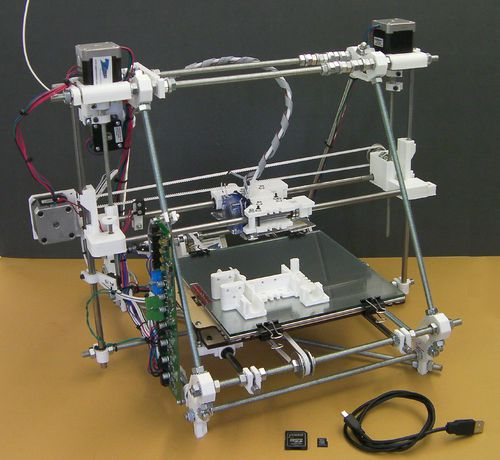 reprap 3d printer software