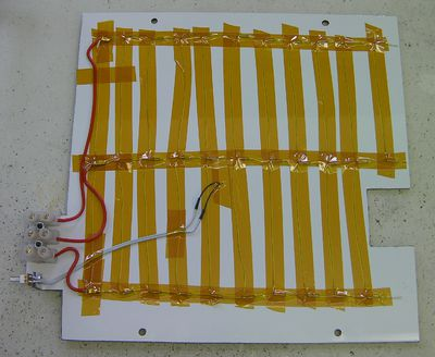 Mendel Heated Bed Reprap