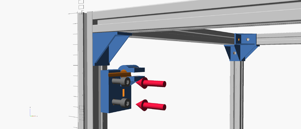 Y-axis clamp assembly instructions