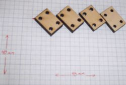 Pieces used to make the PCB Bar Clamps.