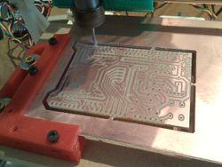 Gravure de circuit imprimé