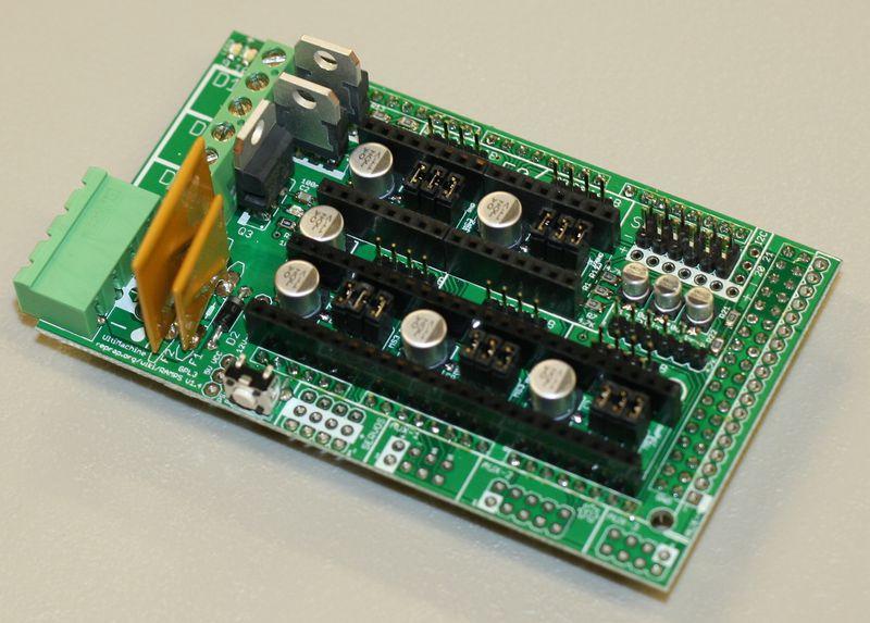 Troubleshooting Reprap Prusa Arduino 2560 Ramps 1 4