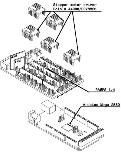 Arduino Mega Wiring Diagram