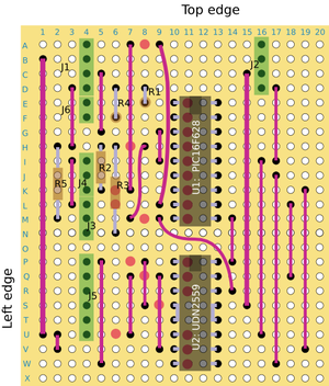 StepperDriverWithUDN2559-2559 Stepper Stripboard top.png
