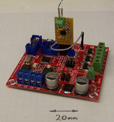 Hacks to the RepRap Extruder Controller v2 2 - RepRap