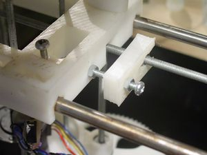 ItemsMade-first reprap part-fitted-23-9-2006.jpg