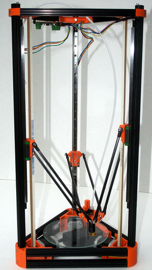Mechanical Rigidity/Original Kossel - RepRap