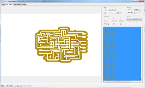 CNC Gcode controller - RepRap