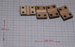 Processed PCB Bar Clamps.