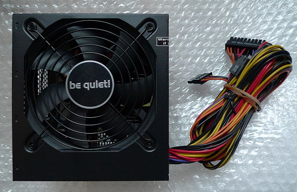 A be quiet! ATX PSU from their value line.