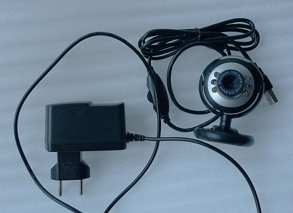 Power supply (5V@2A) and inexpensive 640x480 USB webcam.