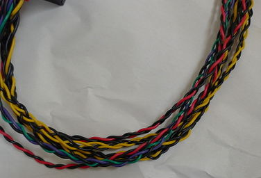 Braided cables.